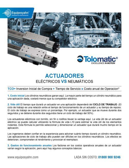 actuadores electronicos VS neumaticos
