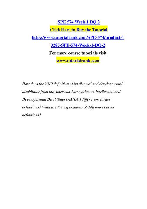 SPE 574 Slingshot Academy / Tutorialrank.Com