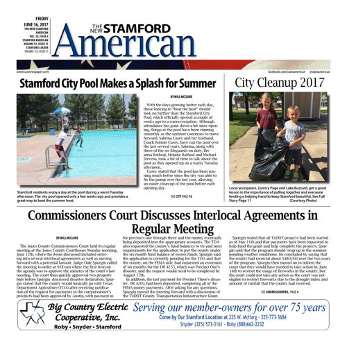 Stamford - Vol 8 Issue 35