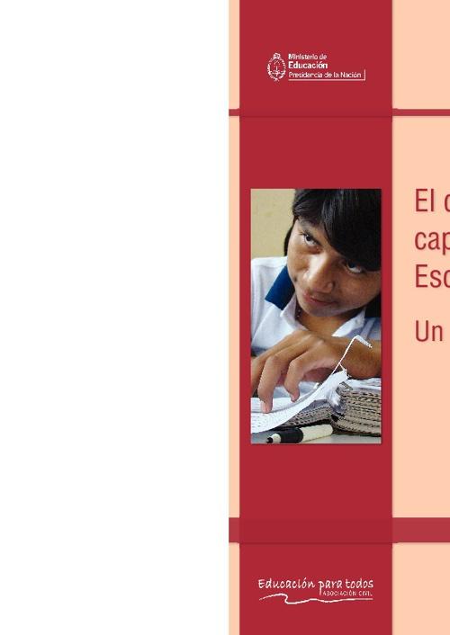 El desarrollo de capacidades en la Escuela Secundaria