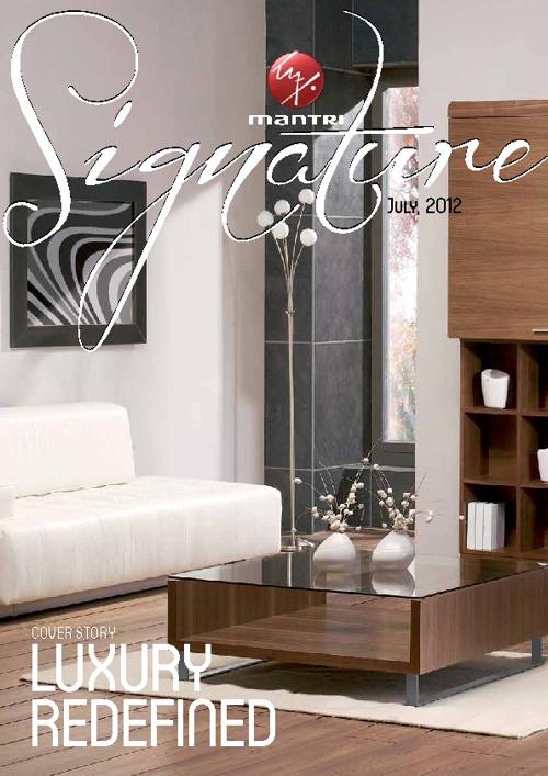 Mantri Signature Magazine - July Issue