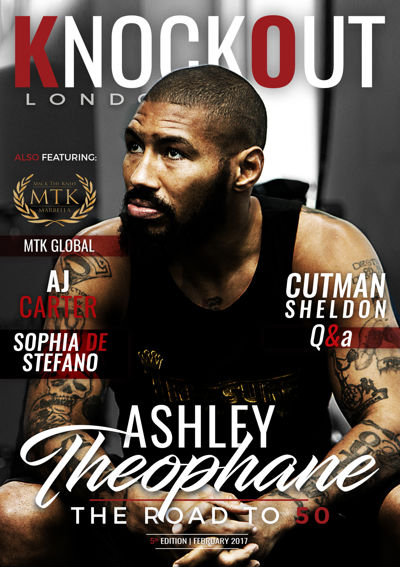 KnockOut London Magazine 5 - Ashley Theophane