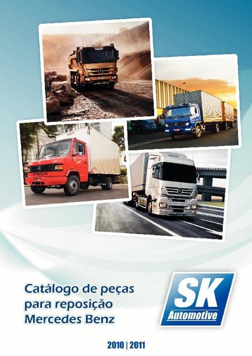 Catálogo de Peças de Reposição para Caminhões e Ônibus Mercedes