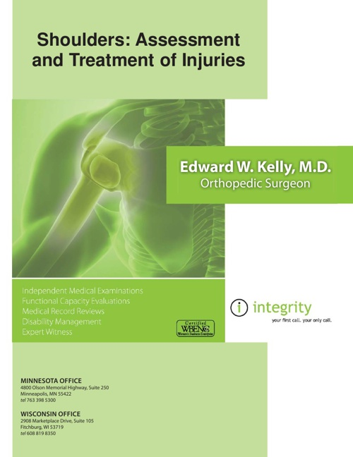 Shoulders: Assessment and Treatment of Injuries — Dr. Ed Kelly
