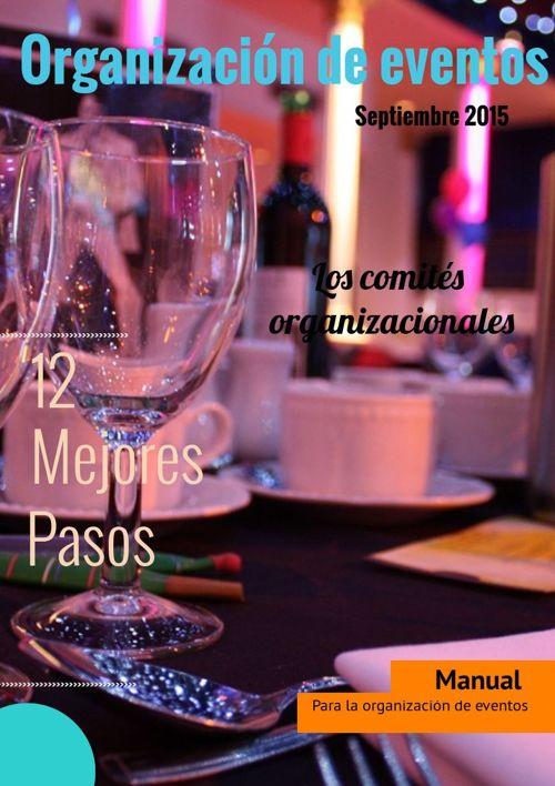 Manual Organización de eventos.