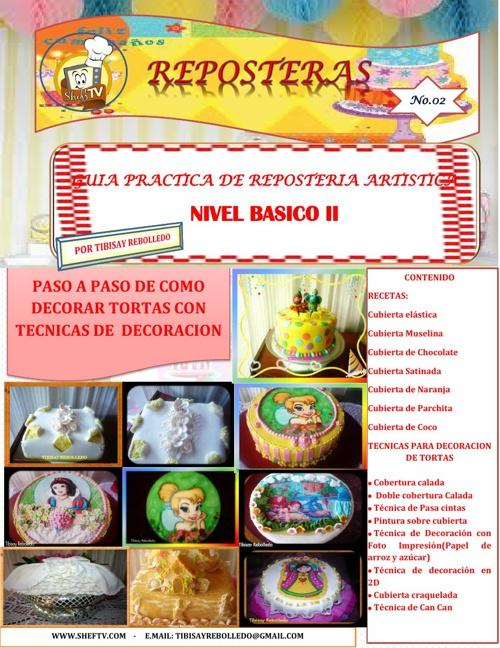 REPOSTERAS No.02 -REPOSTERIA NIVEL BASICO II