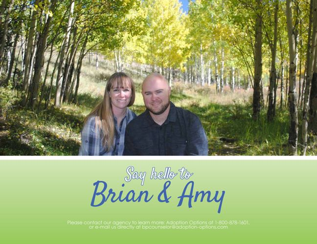 Brian and Amy's Adoptive Family Website
