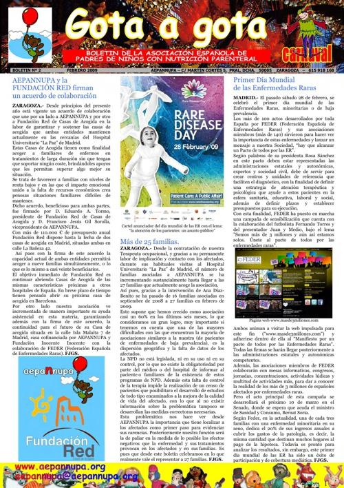 Boletín 2 Febrero 2009