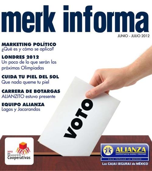 Revista Merk Informa Junio / Julio 2012
