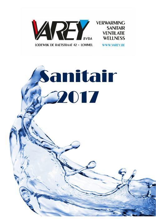 boekje sanitair 2017