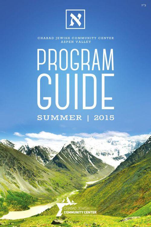 JCC Aspen Summer Program Guide