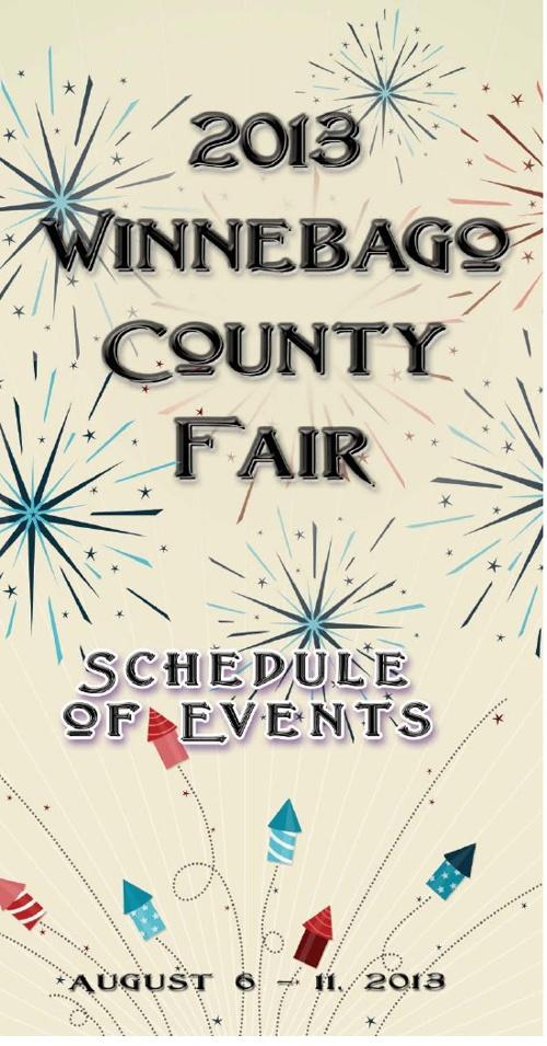 2013 Schedule of Events