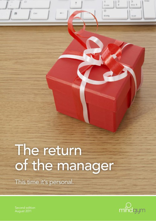 The return of the manager: this time it's personal [UK]