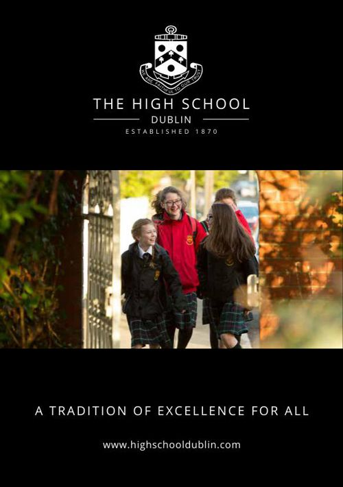 The High School Dublin Prospectus
