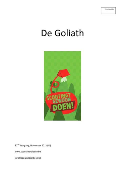 Goliath November
