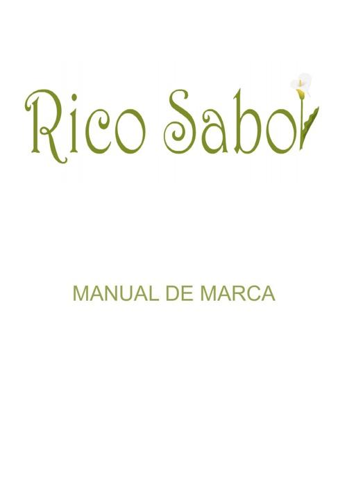 manual de marcas rico sabor (denis romero)