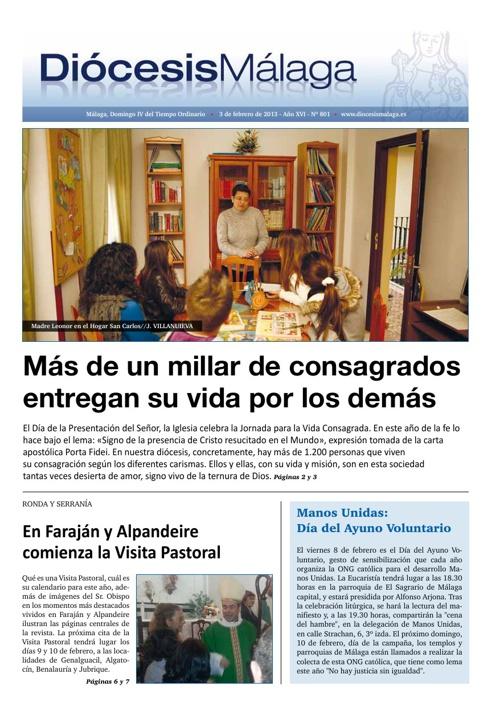 Diócesis Málaga nº 801 (03/2/2013)