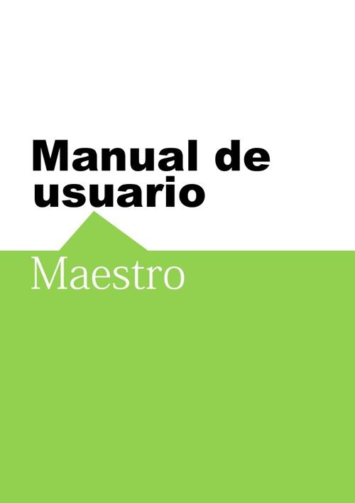 Manual Escuela