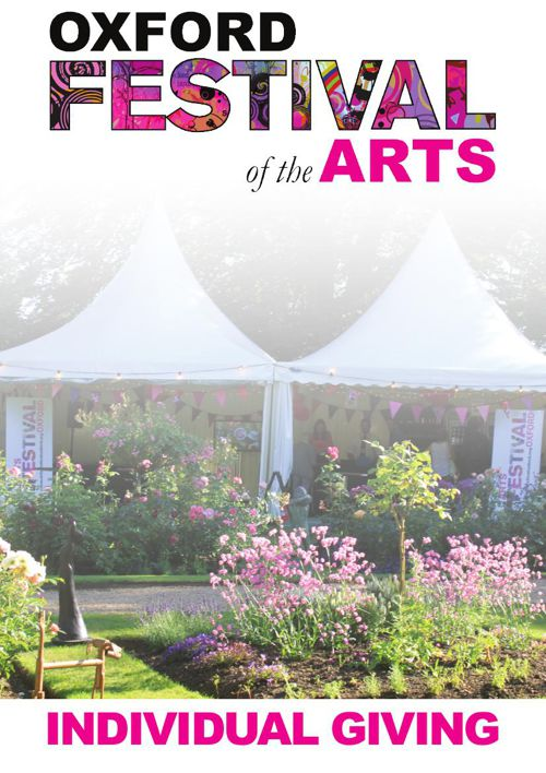 Oxford Festival of the Arts Individual Giving 2016