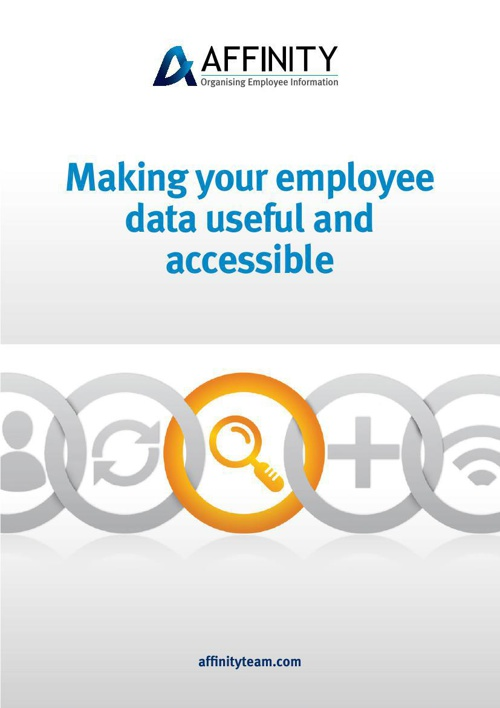 Affinity Employer Services - Organising Employee Information