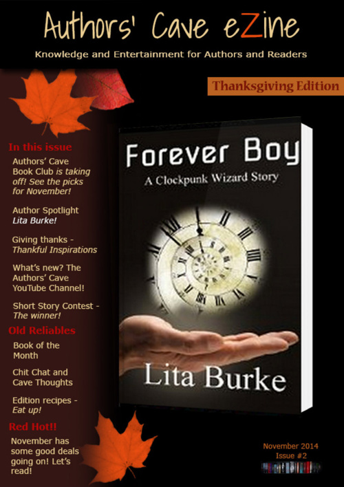 Authors' Cave Book Club eZine - November