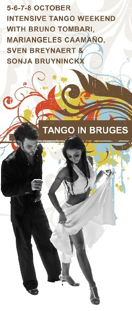 Tango in Bruges with Bruno & Mariangeles and Sven & Sonja