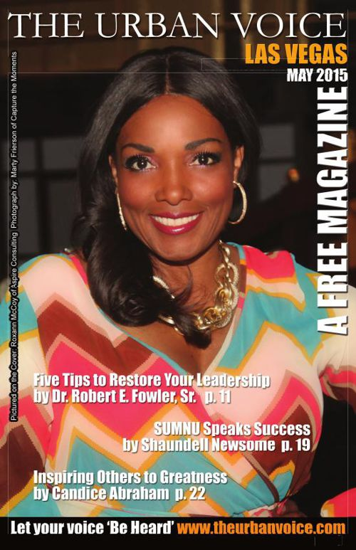 Copy of MAY 2015 EDITION of The Urban Voice, Las Vegas - LARGE