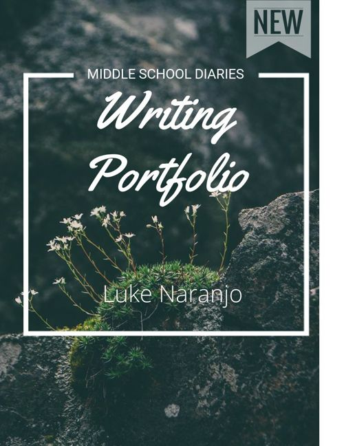 Middle School Diaries: Luke Naranjos Writing Portfolio