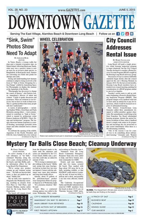 Downtown Gazette June 5, 2015