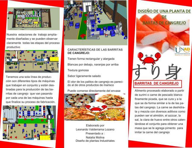 Brochure BARRITAS DE CANGREJO
