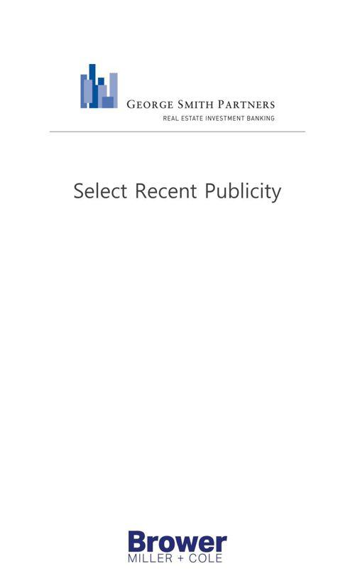 GSP Select Publicity
