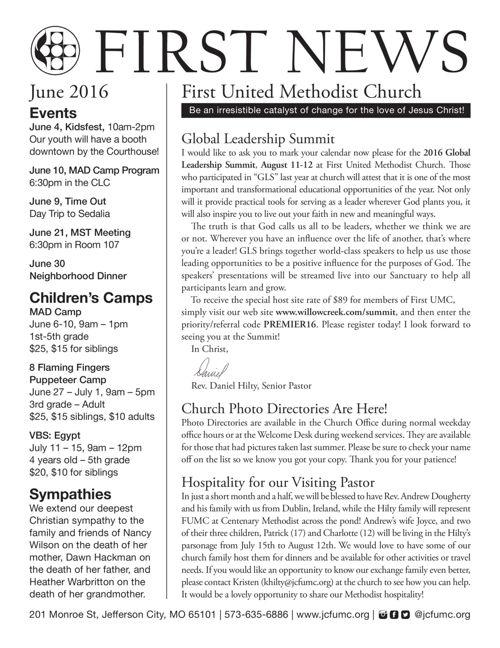 First News June 2016