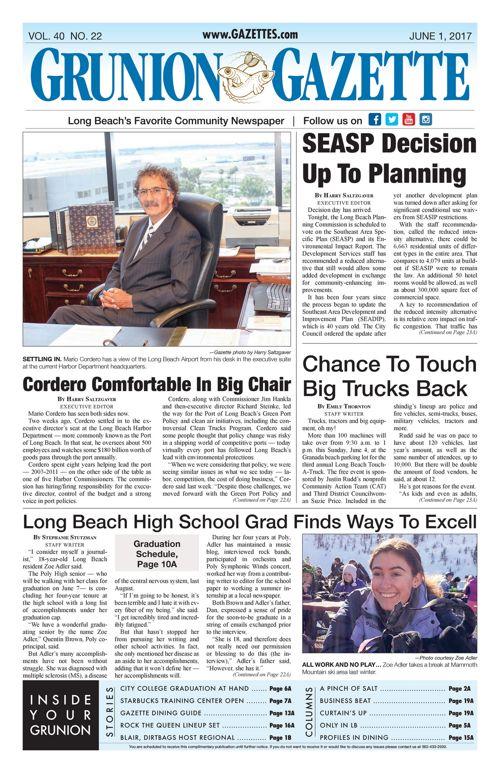 Grunion Gazette     June 1, 2017