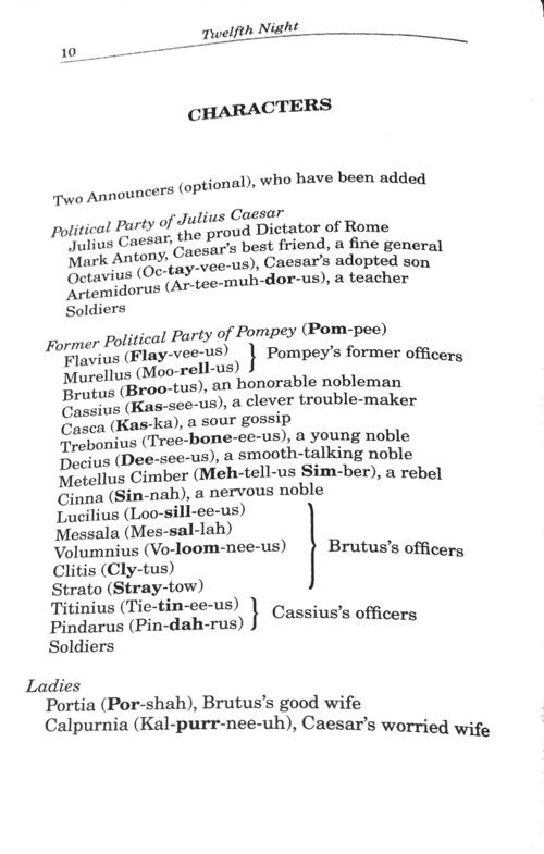 Julius Caesar Act I- enhanced