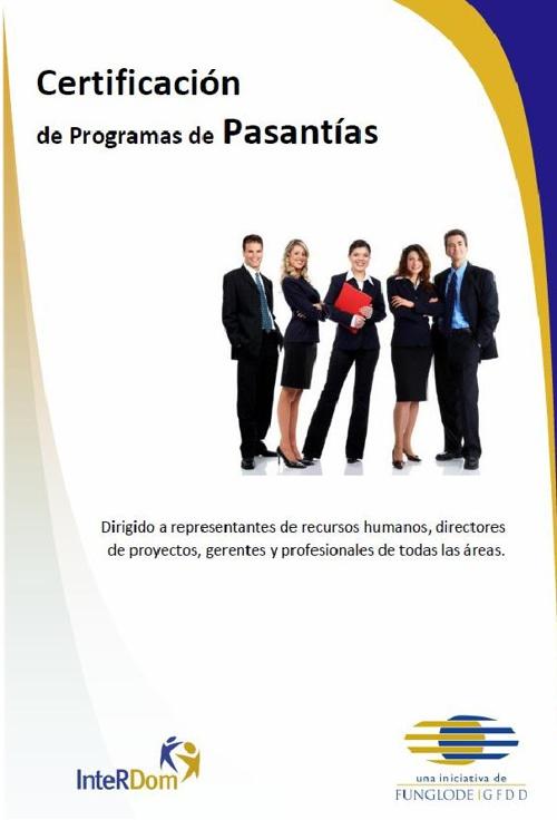 Certificación de Programas de Pasantías Marzo 2013