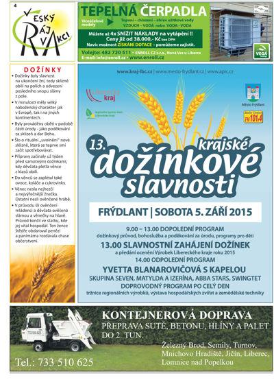 český ráj v akci - srpen 2015