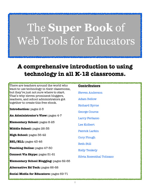 web tools for teachers
