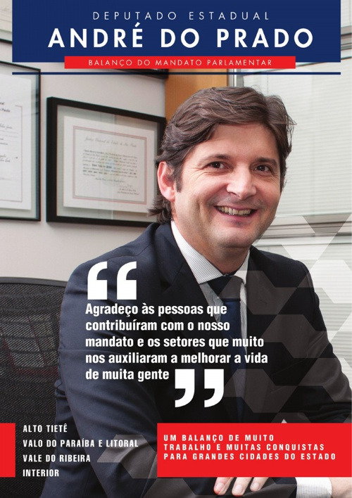 André do Prado – Balanço do Mandato Parlamentar