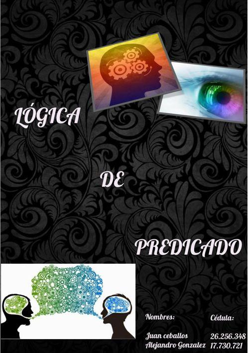 LÓGICA DE PREDICADO