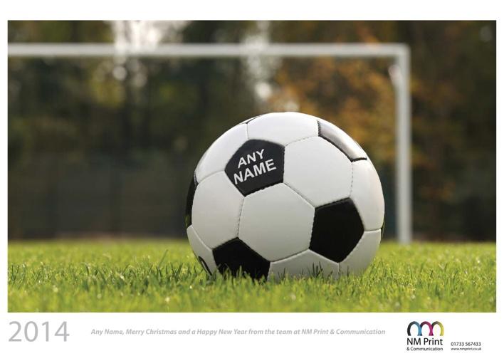 Personalised calendar - Sport