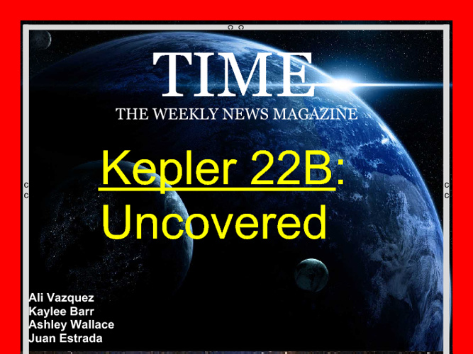 Keppler 22b Magazine