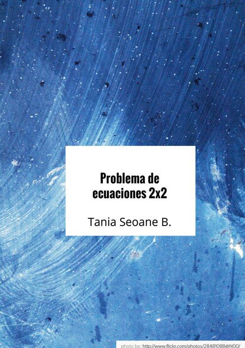 Problema de ecuaciones dos por dos