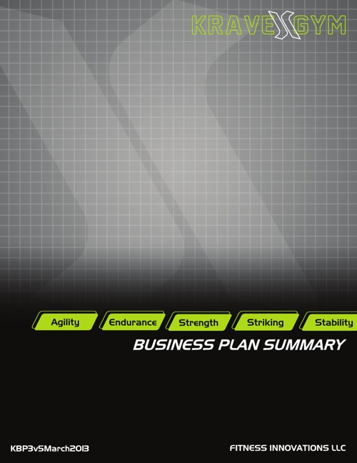 Evark Business Plan Summary 2013