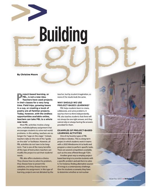 Building Egypt