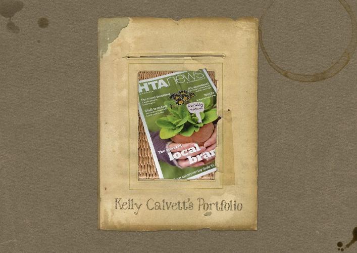 Kelly Calvett's Portfolio