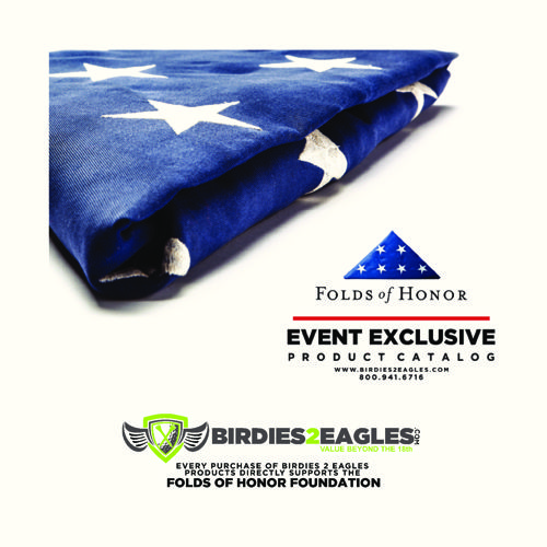 FOLDS OF HONOR - EVENT EXCLUSIVE PRODUCT CATALOG