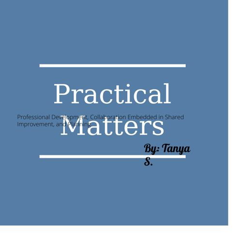 SPED 438--Practical Matters