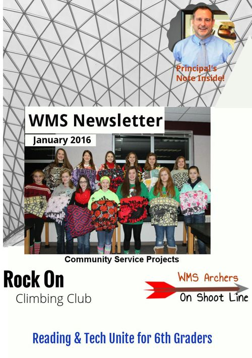 WMS January 2016 Newsletter