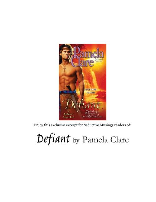 Excerpt:  Defiant by Pamela Clare
