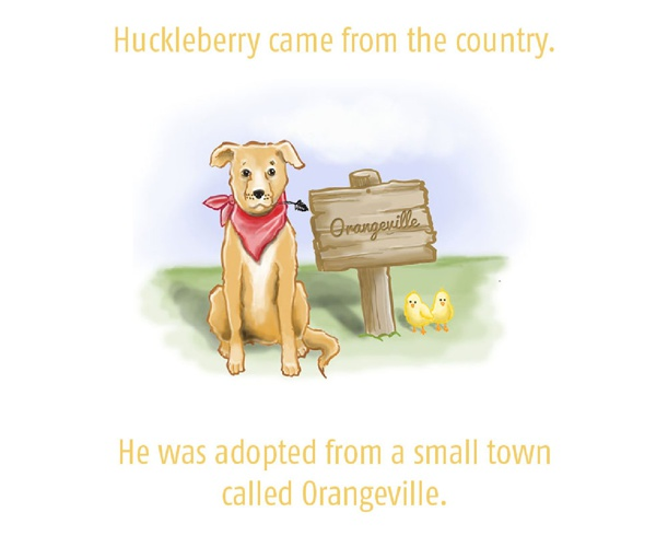 Huckleberry Goes to the City